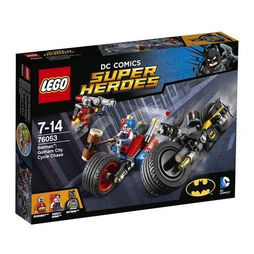 LEGO  DC Super Heroes 76053 Batman Gotham City Cycle Chase Harley Quinn