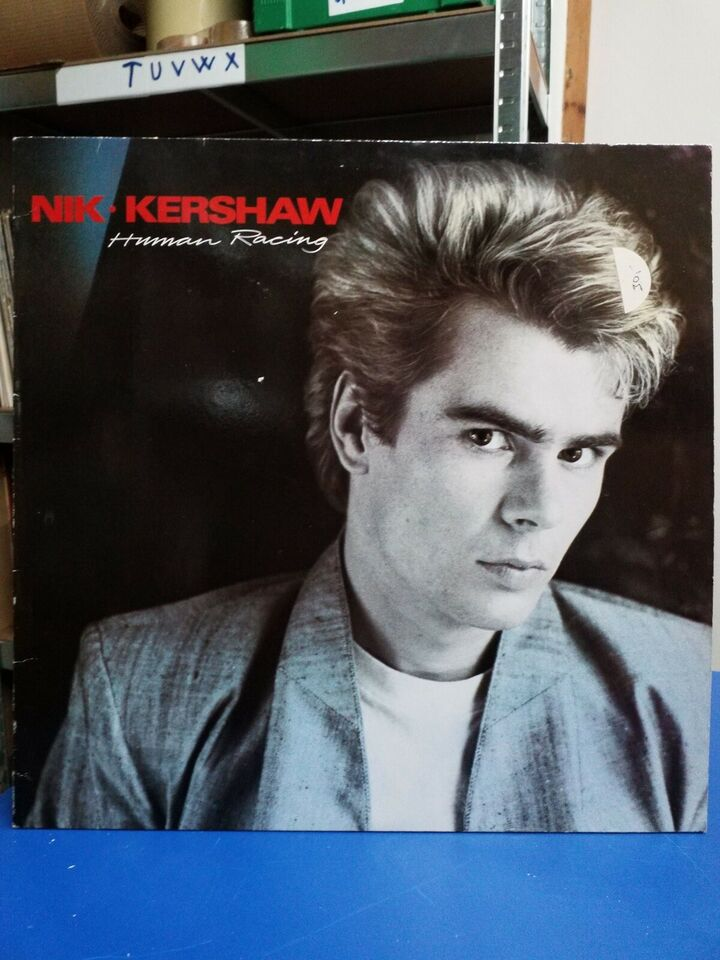LP, NIK KERSHAW, HUMAN RACING