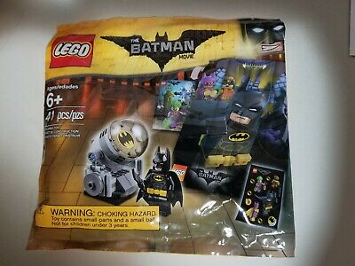 NEW LEGO BATMAN 5004930 POLYBAG ACCESSORY PACK STICKERS MINI POSTER BAT SIGNAL
