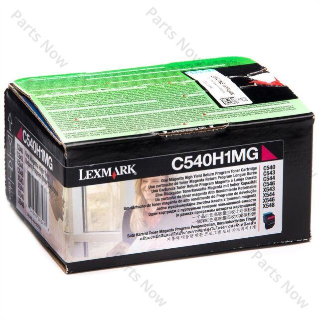 Original Lexmark Toner C540H1MG Magenta for C540 C543 C544 X543 X544 A-Ware