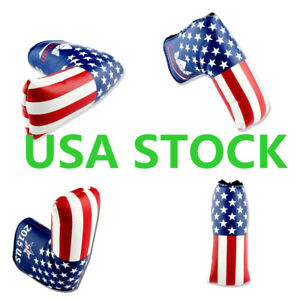 USA-Putter-Head-Covers-Blade-Headcover-American-US-Flag-For-Scotty-Cameron-Ping
