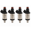 Set of 4 Flow Matched Fuel Injectors For Honda Accord Civic Acura RL TL
