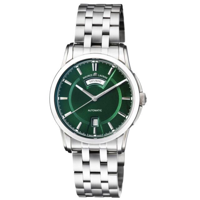 Maurice Lacroix Pontos Automatic Movement Men's Watch PT6158-SS002-63E-1