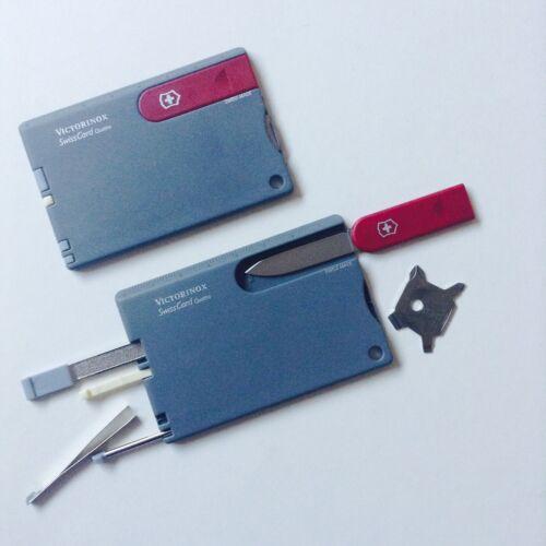 Victorinox Swiss Card Quattro multi-function credit card sized pocket tool