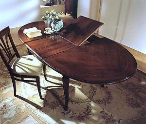 Tavolo da pranzo ovale in legno allungabile 160 210 for Tavolo da pranzo ovale allungabile