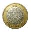 thumbnail 1 - 🇲🇽 Mexico 10 Pesos Coin, Bi-metallic, Sun Stone - Tonatiuh, 2015