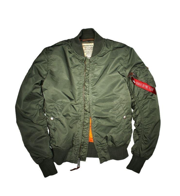 Alpha Industries Ma-1 VF 59 191118 01 sage green