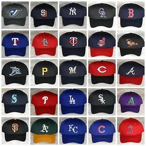 New-OC-Sports-MLB-Adjustable-Snapback-Baseball-Hat-Cap-Adult-S-M-Most-Teams