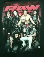 Wwe Raw Shirt Xxl With Tags Ambrose Sting Lesnar Rollins Reigns Wyatt