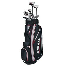 Callaway Mens 2016 Strata 12-Piece Complete Golf Set with Bag Right Handed