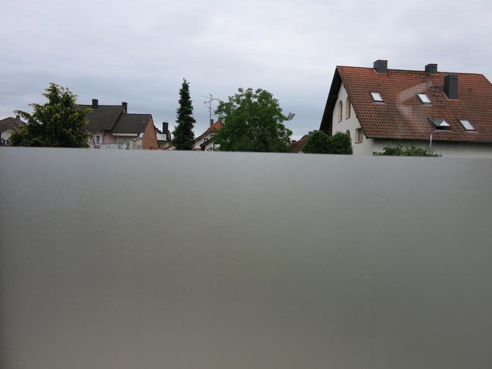 Fensterfolie Sichtschutz Sichtschutz Sichtschutz statisch Zarame 92cm hoch Milchglasfolie Größenwahl 55531f