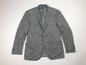 Corneliani-OGER-Mens-Solid-Gray-Two-Button-Blazer-Sport-Coat-Jacket-52-R-42