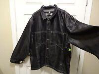 New-men- Marithe Francois Girbaud Gray Cotton/polyester Jean Jacket Sz Xxxl-3xl