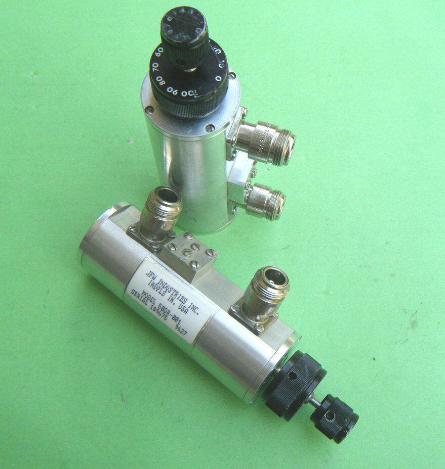 1pc Used JFW 50DR-001 0-110dB 1.0GHz N Handle step attenuator