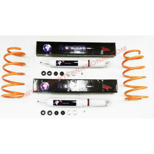 Shocks+Springs Suspension Kit Rear For Toyota Hilux Surf KZN130 3.0TD 93-95