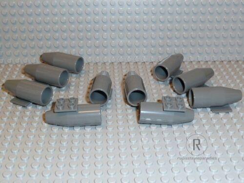 LEGO® 10 Flugzeug Turbine dunkelgrau für Star Wars City Flughafen 4868b R805 NEU
