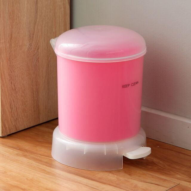 Orz 4l Step Trash Can Plastic Waste Bin Kitchen Mini Trash Can Office Paper