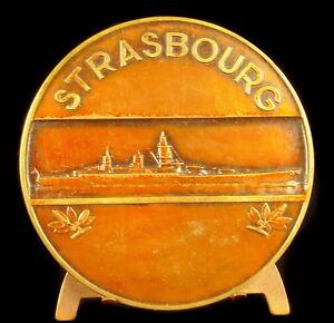 Medal-1942-68-mm-in-the-Ship-of-Line-Strasbourg-Sc-Morlon-War-Ship-Medal