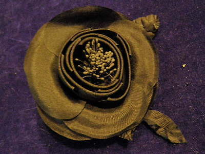 Millinery Flower Fruit Iced Blueberry Berry Lot 3pc for Hat Wedding or Hair KZ25