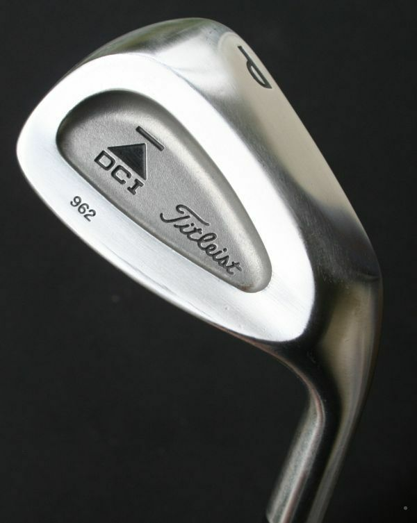 Titleist ICD 962 Pitcheo P Cuña VGC Rifle 7.0 Eje De Acero