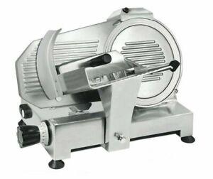 Aufschnittmaschine-Allesschneider-25-cm-Schraegschneider-Wurstschneider-Gastlando