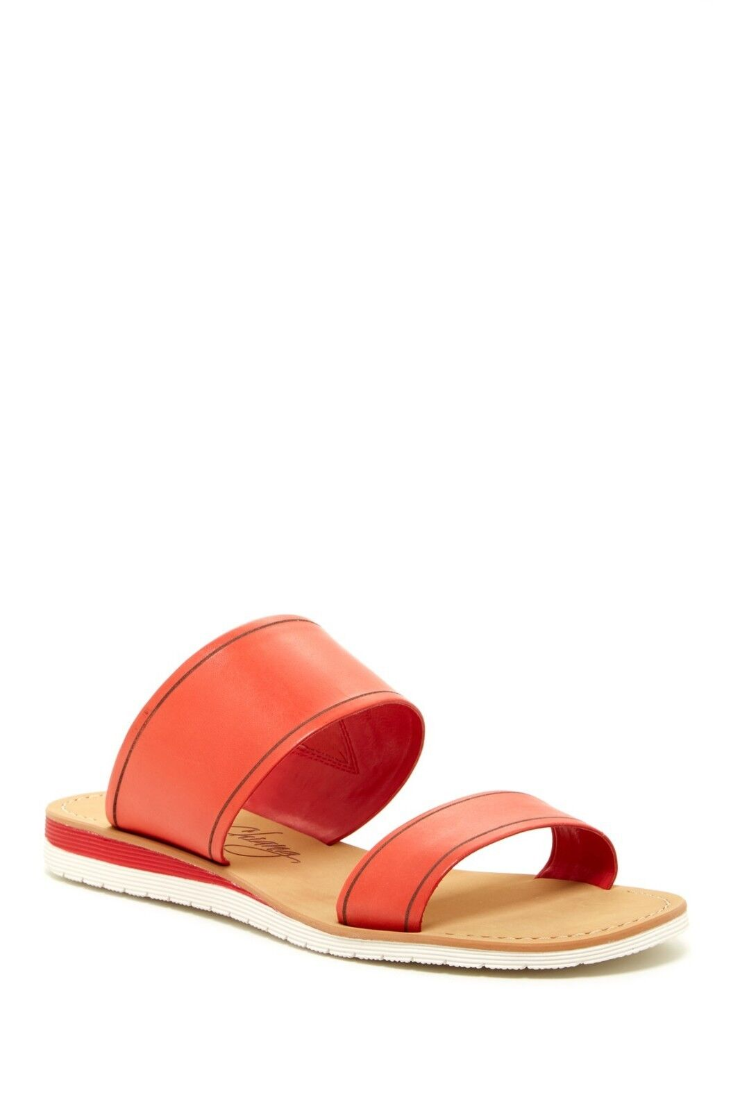 NEW Arturo Chiang FLAME Joey Slide Sandal, RED FLAME Chiang VACHETTA, Women Size 9.5  $69 eed31a