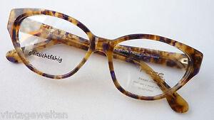 Vintagebrille Hornoptik Damen Breite Bügel Butterfly Gestell Handmade Grösse M Weich Und Leicht Sonnenbrillen & Zubehör
