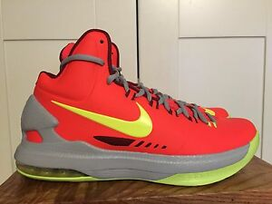 d1d57601adcd NIKE KD V DMV SIZE 9.5 NEW IN BOX 554988 610 BASKETBALL MARYLAND ...