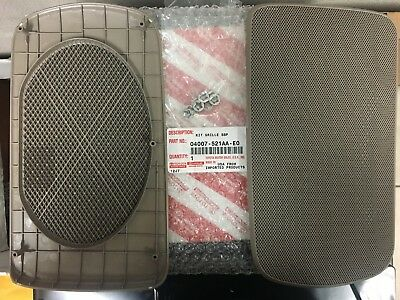Toyota Camry 2002-2006 Genuine OEM Rear Speaker Grill Cover Beige 04007-521AA-E0