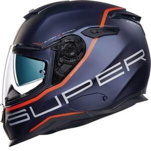 NEXX-SX-100-SuperSpeed-BLU-ROSSO-Casco-da-MOTO-MOTOCICLETTA-MOTOCICLISMO