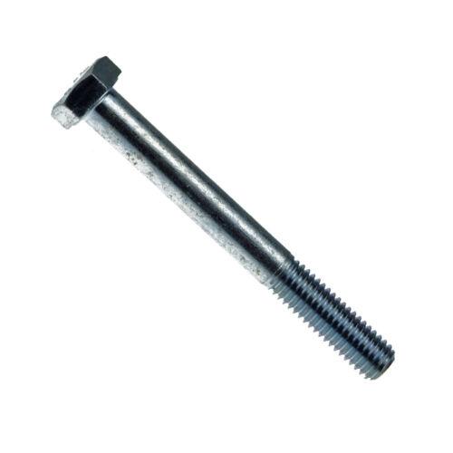 Sechskantschrauben mit Schaft DIN 931 8.8 Stahl galv verzinkt DiSP M 12 M 24