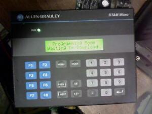 Details about ALLEN BRADLEY 2707-M485P3 SER D REV A DTAM MICRO KEYPAD!!