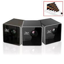 Black DLP Protable  Micro USB  Smart Beam Black Mini  Pico Laser Projector
