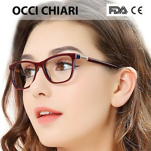 5e4b3329e33a OCCI CHIARI 2019 Vintage Retro Acetate Myopia Eye Glasses Women ...