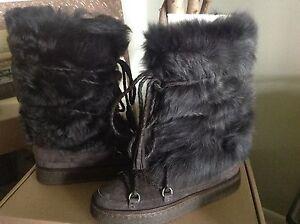 Frye-Gail-Womens-Shearling-Fur-Brown-Suede-Tall-Boot-7-5M-MSRP-548