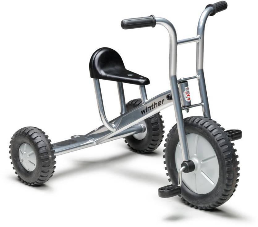 Winther triciclo off-road grande cromo-Look 4-8 años
