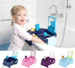 rotho kiddy 39 s wash kinderwaschbecken zum anbringen am rand der badewanne 20034 ebay. Black Bedroom Furniture Sets. Home Design Ideas