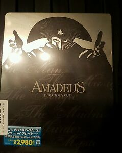 Amadeus Japan blu ray steelbook new and sealedsmall dent as shown on pics - <span itemprop='availableAtOrFrom'>Porth, United Kingdom</span> - Amadeus Japan blu ray steelbook new and sealedsmall dent as shown on pics - Porth, United Kingdom