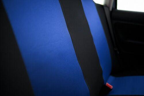 Sitzbezüge Sitzbezug Schonbezüge für Mazda 6 Blau Sportline Komplettset