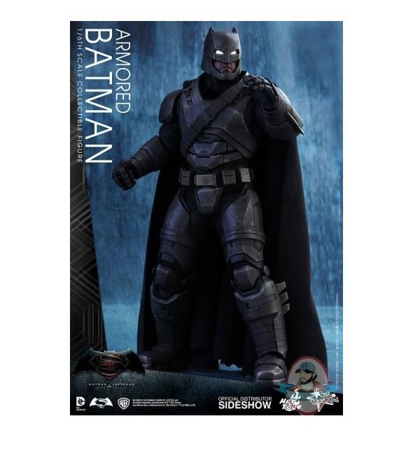 1/6 Batman Vs. Superman ArmoROT Batman MMS Hot Toys Used JC
