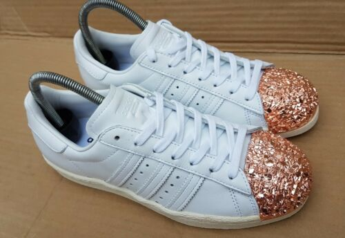 3d Uk Size Gold 4 White Crackle Trainers Rose Superstar Adidas Gorgeous xXqpvv