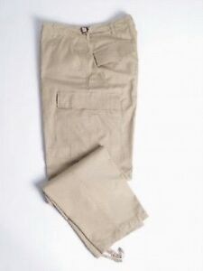 US-BDU-FIELD-TROUSERS-WOMEN-T-C-Khaki-Outdoor-Hiking-Hunting