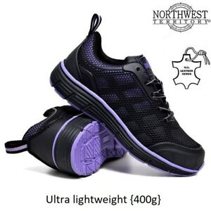 62df8511e77 Details about NORTHWEST WOMENS LIGHTWEIGHT STEEL TOE CAP WORK SAFETY LADIES  TRAINERS BOOTS SZ