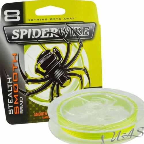 SPIDERWIRE Smooth 8 150M 0.20//20kg Yellow 8 fach Geflochtene Angelschnur
