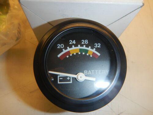 """New DATCON GAUGE VOLTMETER 24V  2/"""" Diameter 07583-17"""