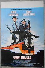 Affiche COUP DOUBLE Tough Guys BURT LANCASTER Kirk Douglas 40x60cm