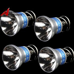 180 Lumens 6V Xenon Bulb Lamp Yellow Light for Surefire P60//P61 Flashlight Torch