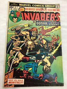 Marvel-Invaders-October-2-Comic-1975-vs-Donar-Used