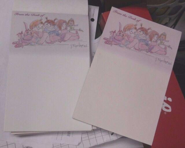 "50 sheets ea New Lot of 6 Ballet Notepads 5.5/"" x 8.5/"" ballerina girls Y Pilyars"