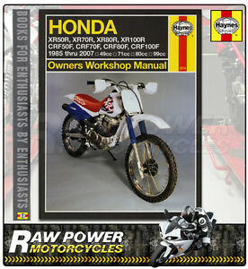 honda xr70 r 70cc 1997 2003 haynes manual 2218 ebay rh ebay co uk honda xr 70 manual pdf honda xr70 service manual
